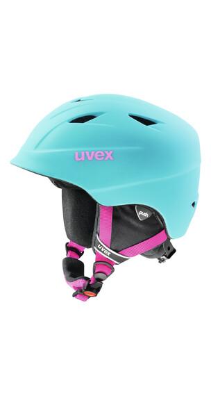 UVEX airwing 2 pro Helmet Junior liteblue mat